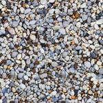 River pebbles - seamless texture by Strapaca