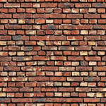 Old uneven brick wall - seamless texture by Strapaca