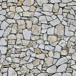 Mixed shape stone wall - seamless texture by Strapaca