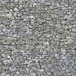 Irregular old stone wall - seamless texture by Strapaca