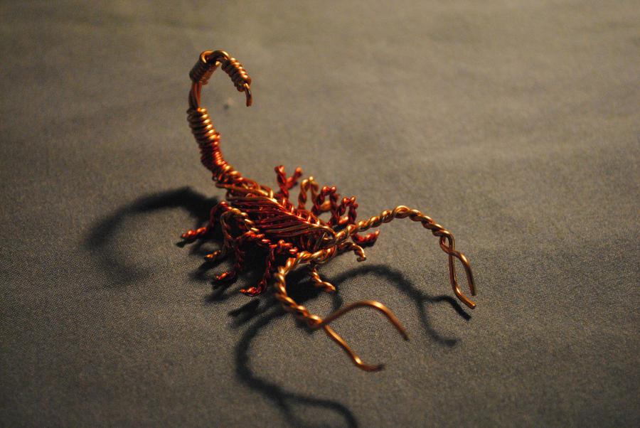 Two_tone Copper Scorpion by Fractal-Reactor on DeviantArt