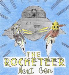 The Rocketeer Next Gen (a fictional sequal) by Konstalieri