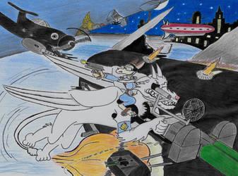 Zoom 'N Boom Near Atlantic (Art trade) by Konstalieri