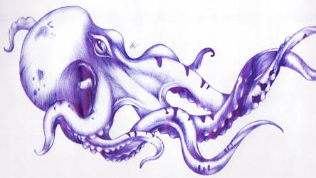 Octopus by Muratesh