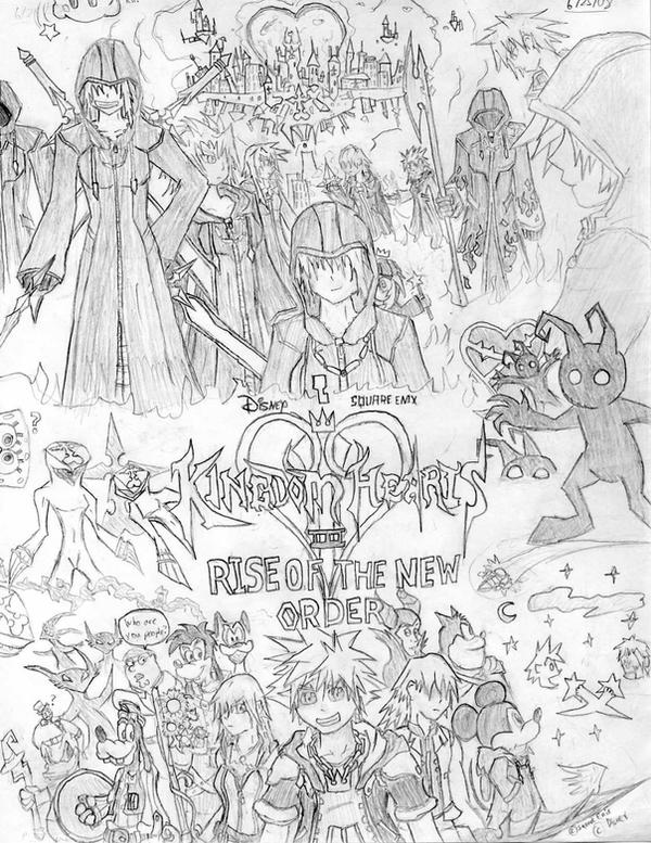 KH Rise of the New Order Cover by TheLegendaryKeyblade