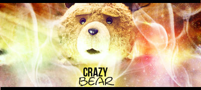 Crazy Bear Sign