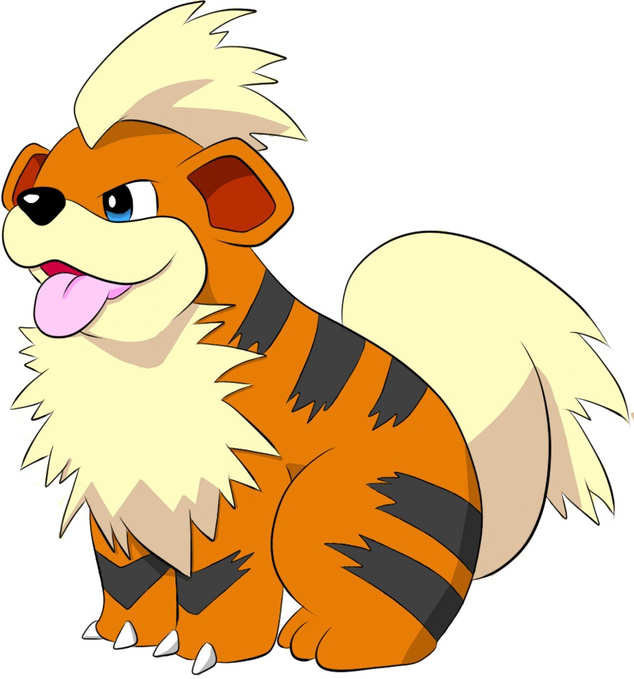 Growlithe Lineart by magical-chickensGrowlithe