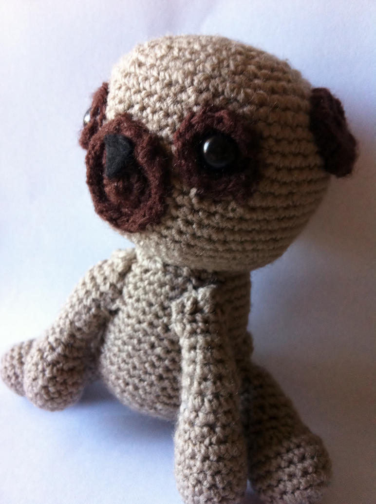 Amigurumi Pug by magical-chickens on deviantART