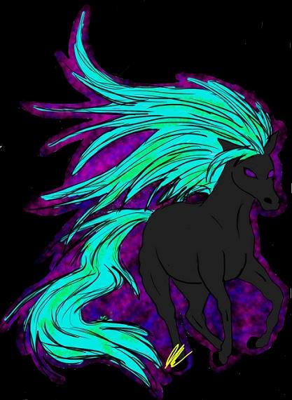 Dark Horse 2 by Skye-TheHedgehog