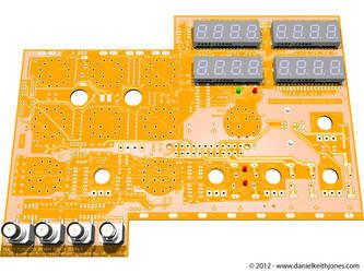 POV-Ray: Multi-Function Bench Power Supply by DanielKeithJones
