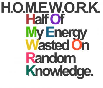 So true (Homework quote) XD by ElfieElite