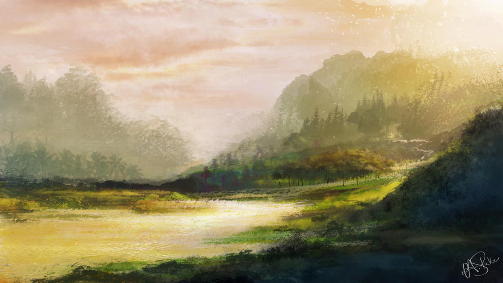Speed painting 1 by AshStraker