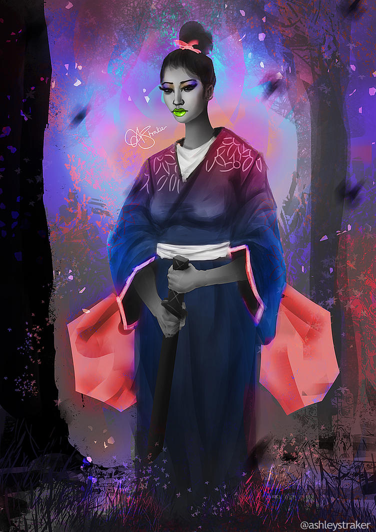 Geiko by AshStraker