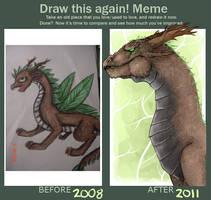 Draw this again meme by KiyaKoda