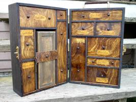 Wonderland Artifact Box (interior) by HerbertW