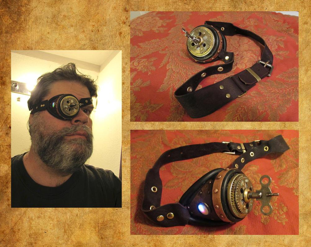Steampunk Eyepatch by HerbertW