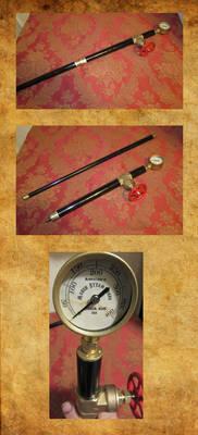 Steampunk Walking Stick 2
