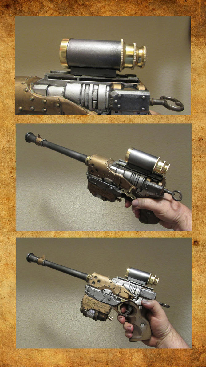 Airship Sniper Pistol by HerbertW