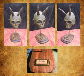 Ritual Mask of the Bayou People by HerbertW