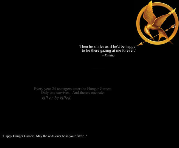 The Hunger Games Wallpaper 2 by SarahBobara