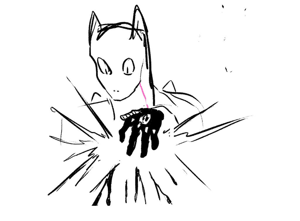 Killer Queen Sketch by somtehingsomething