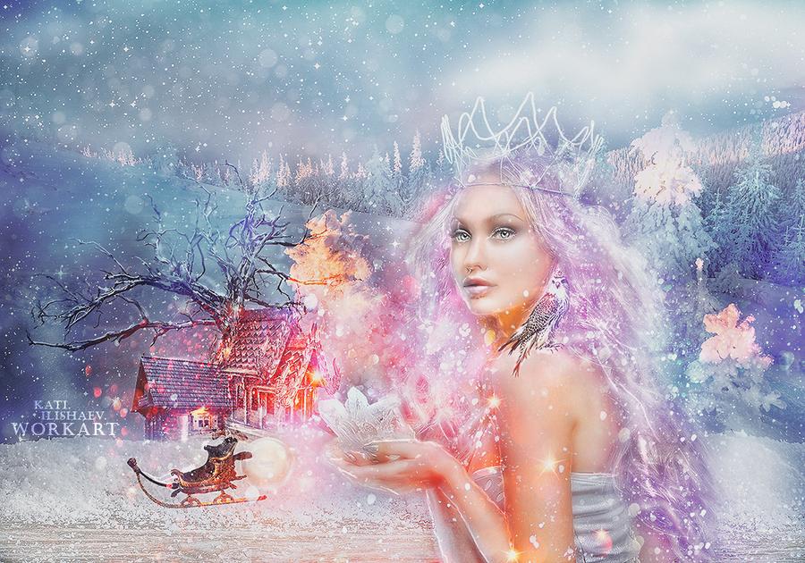 Winter Tale Photomanipulation. by MagicLaDyCharm