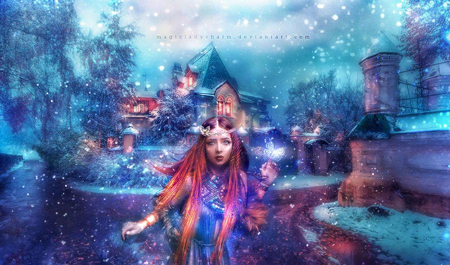 Wonderland of Winter Dreams by MagicalFlowerBomb