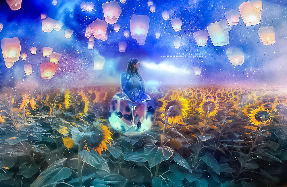 Nelya - The Domino Bomb. by MagicLaDyCharm