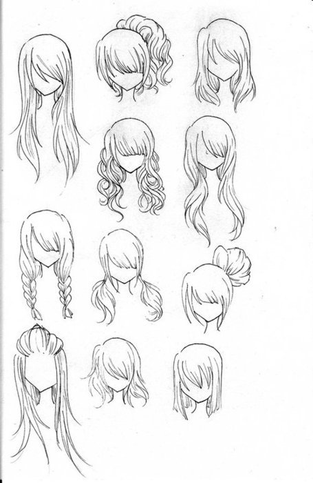 Anime Hair 2 By Loveasianmusic On Deviantart