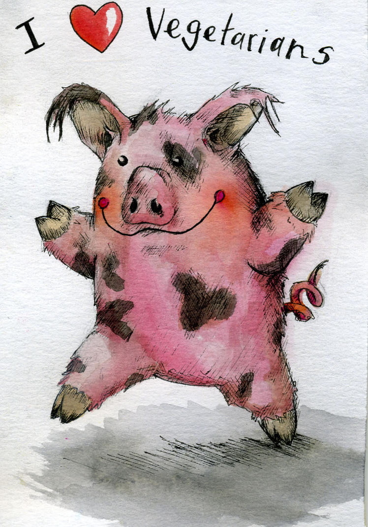 Piggy by D3vilCookie