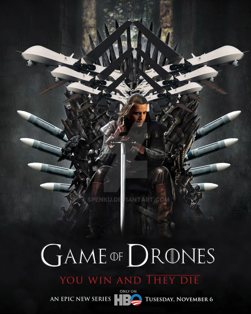 Game of Drones by Spenku