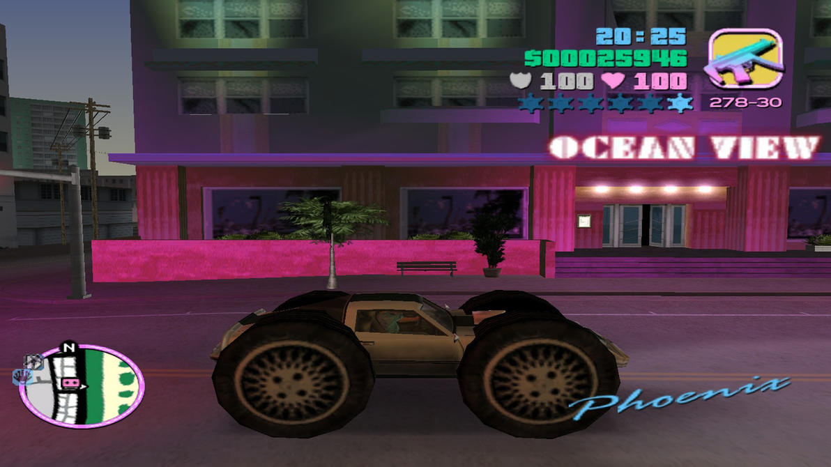Gta Vice City New Cars