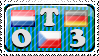OT3: netherlands x czech x germany stamp by APH-Stamps