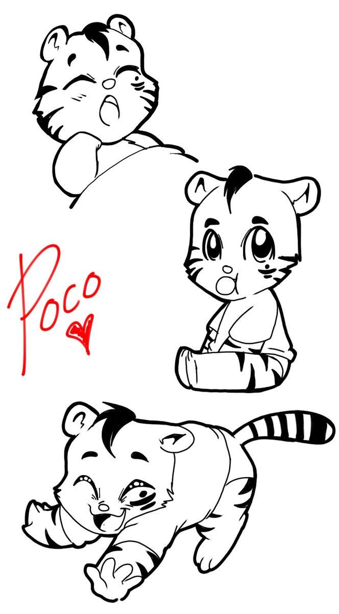 Cute Little Baby Cub Poco by KBBARCO-91
