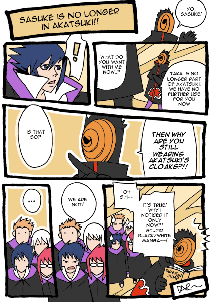 No longer in Akatsuki by daevakun