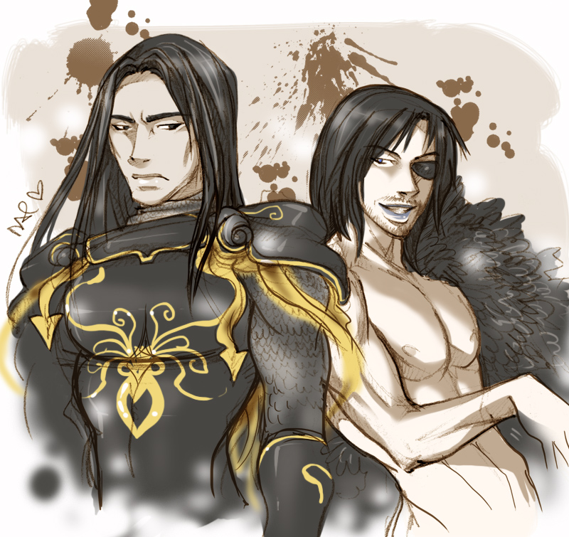 Victarion and Euron by daevakun on DeviantArt