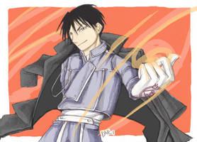 The Flame Alchemist by daevakun