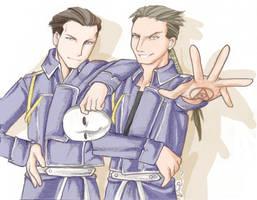 Archer x Kimbly by daevakun