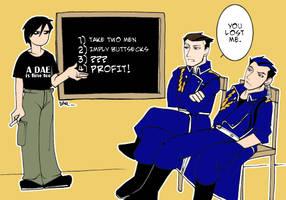 YAOI lessons by daevakun