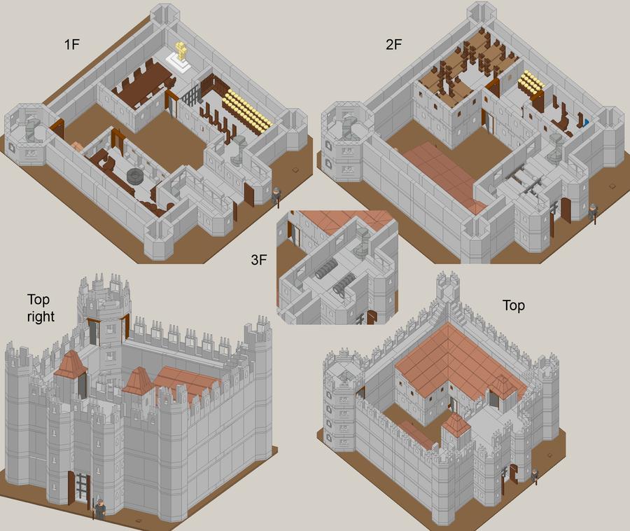 Small Castle By Blackfire Dragon