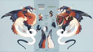 American kestrel dragon auction(CLOSED)