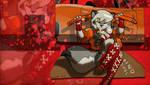 PSP wallpaper7 Wolf Girl take2