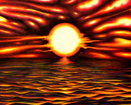Warped Sunset