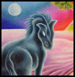 Horses by Megacosmichroma