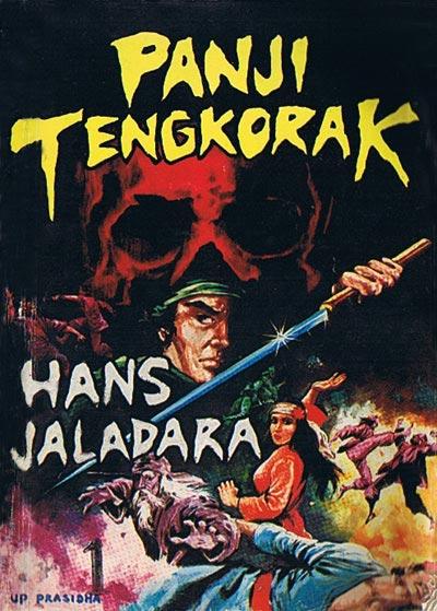 Comic Cover Panji Tengkorak by jaladara