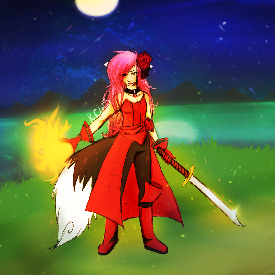 Red Mage by RueWasHere