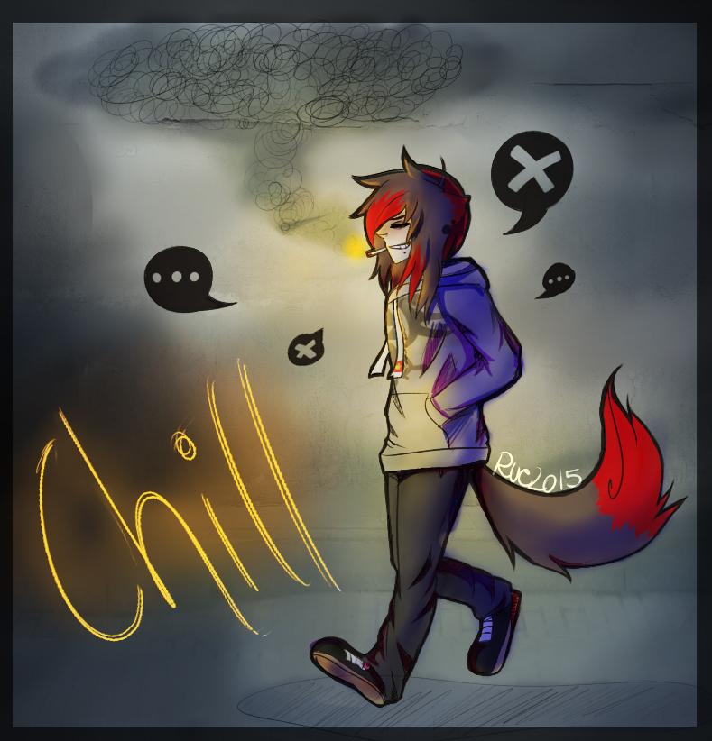 Chill by RueWasHere