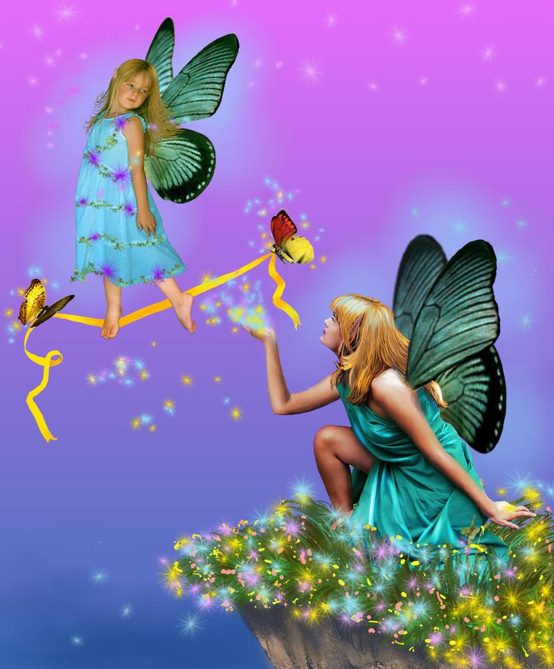 Fairy Flying Lessons By Wilderrose On Deviantart