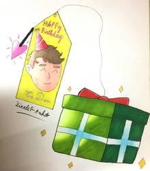 My birthday gift for YouTuber Daniel Howell