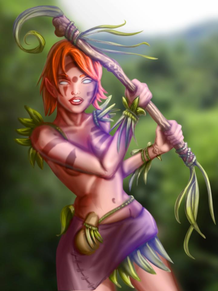 Jungle Girl v2013 by luisk1027
